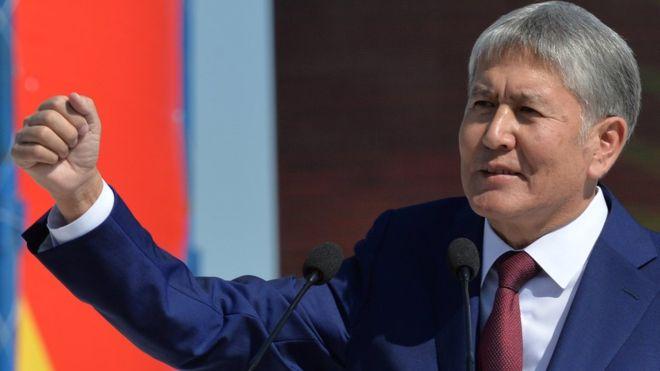 Photo of Кыргыз Республикасынын ПрезидентиАлмазбек Атамбаевкыргызстандыктарды ыйык Орозо айынын башталышы менен куттуктады.