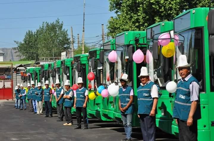 Photo of Айт майрамына карата Ош шаарында коомдук транспорт элди акысыз ташыйт.