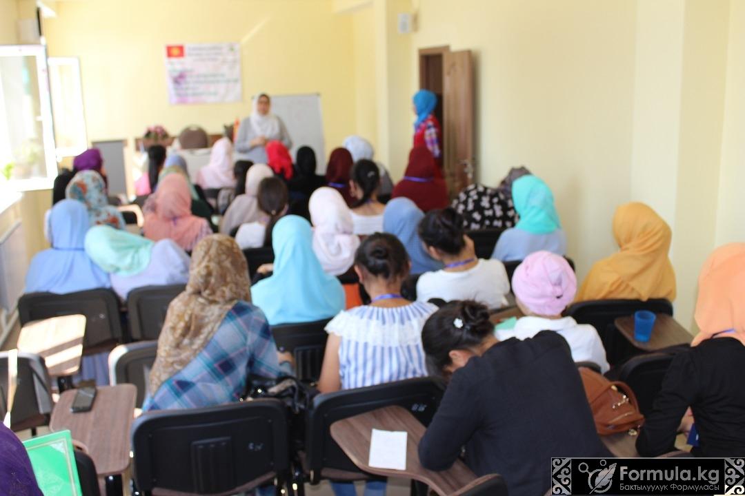 """Photo of """"Нахла Хайрия"""" коомдук кайрымдуулук фонду кыз-келиндер үчүн акысыз лагерь өткөрүүдө."""
