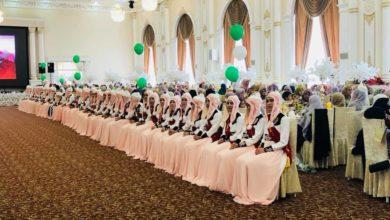 """Photo of Ош шаарындагы """"Сайида Хадича"""" кыздар медресесин Куранды толук жаттаган 52 кыз бүтүрдү"""