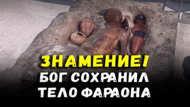 Photo of Знамение! Бог сохранил тело павшего ниц Фараона