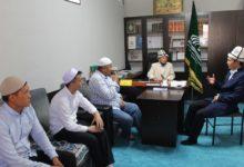 Ош-облусунун-мусулмандар-казысы-Араван-районундук-хатибяттын-ишмердүүлүгү-менен-таанышты